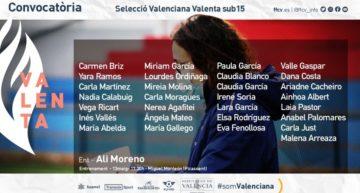 La Selecció Valenciana Valenta sub-15 de fútbol se probará el jueves 13 en el Miguel Monleón