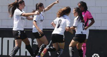 El Valencia logra una victoria trabajada ante el Sporting Huelva (3-1)