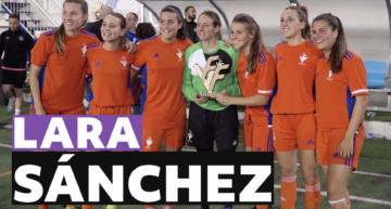 Lara Sánchez y su etapa universitaria en Estados Unidos