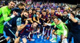 El Levante hace historia y jugará la final de la Liga de Fútbol Sala ante el Barcelona