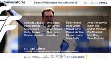 El Juvenil del Torrent pondrá a prueba a la Selecció Valenciana sub16 de Javi Lafora