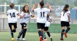 La Academia del Valencia agrega el fútbol base femenino a su estructura