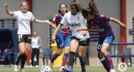 Un gol de Anita Marcos en el último suspiro priva de la victoria al Levante (1-1)