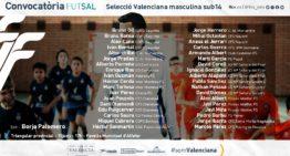 Alfafar presenciará el triangular provincial de futsal de la Selecció valenciana sub14