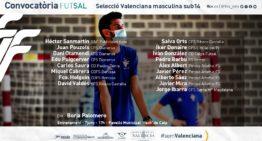 La Selecció Valenciana sub14 de fútsal volverá a los entrenamientos en Calpe