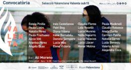 La Selecció Valenta sub15 cita a 29 jugadoras para entrenar en La Vila Joiosa