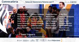 Santi Triguero da la convocatoria para los entrenamientos de la Selecció Valenta Sub17