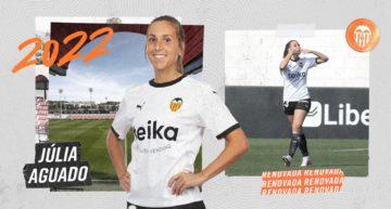 Júlia Aguado prolonga su contrato con el VCF Femenino hasta 2022