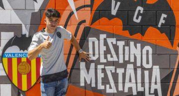 El Valencia Mestalla contará esta temporada con el 'Guaje' López