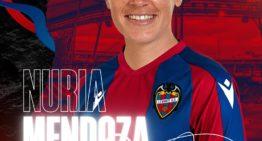 El Levante cierra la incorporación de Nuria Mendoza