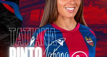Tatiana Pinto se suma al proyecto del Levante para la temporada 21/22