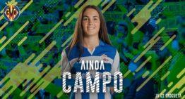 Ainoa Campo, nuevo refuerzo para el Villarreal de Sara Monforte