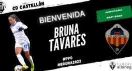 El CD Castellón Femenino sigue voraz en el mercado y firma a Bruna Tavares, su decimoquinto fichaje