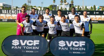 UPA Academia II: más canteranos debutan con el primer equipo del Valencia CF