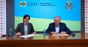 Villarreal CF y UCH CEU dan un paso más en su colaboración