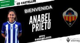 Anabel Prieto refuerza el proyecto del CD Castellón en Reto Iberdrola