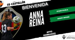 Anna Reina, refuerzo de lujo para la portería del CD Castellón