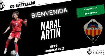 El CD Castellón Femenino anuncia a la atacante Maral Artin como noveno fichaje