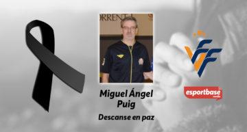 Fallece Miguel Ángel Puig, colegiado valenciano de fútbol sala