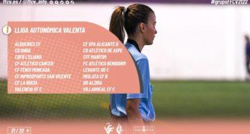 Estos 16 equipos jugarán la Liga Autonómica Valenta FFCV 2021-2022