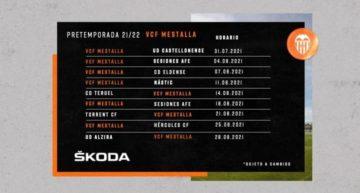 Estos son los 9 rivales del Valencia Mestalla en pretemporada