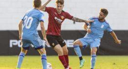 Xavi Estacio: renovación y debut con el primer equipo en el último mes