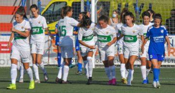 El Elche Femenino espera rival en la final del COTIF tras imponerse al CFF Marítim (0-7)