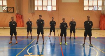 Los árbitros de Primera y Segunda División de futsal superan con éxito las pruebas físicas