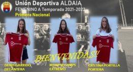 La UD Aldaia anuncia 11 incorporaciones para su equipo femenino