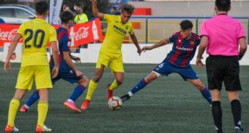 El Villarreal tumba al Levante y sigue con opciones de entrar a semis del COTIF (3-2)