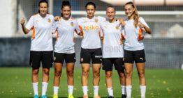 Cinco canteranas debutan con el primer equipo del VCF Femenino
