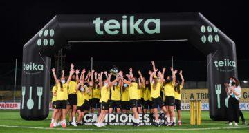 El Villarreal Femenino se lleva el primer Trofeu Teika ante Valencia CF y Levante