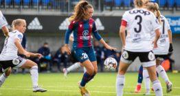 El Levante logra un triunfo agónico ante el Rosenborg y estará en la segunda fase previa de la UWCL (4-3)