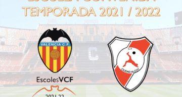 La Academia VCF incorpora al FC Ciudad Alcoy al programa de Escoles VCF