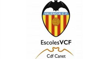El CDF Canet se incorpora al proyecto Escoles VCF de la Academia del Valencia CF