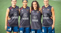El Levante UD Femenino anuncia las cuatro capitanas para el curso 21-22