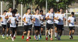 Estos son los juveniles del Valencia CF que hacen pretemporada con el Valencia Mestalla