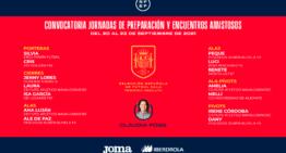 María Angeles Pino 'Melli' (UA) sigue contando para la Selección Absoluta de futsal