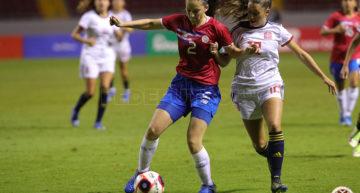 La Selección eEspañola Femenina Sub-20 se impone con contundencia a Costa Rica (0-5)