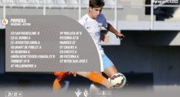 Publicados los 9 grupos y calendarios de Primera Regional Juvenil FFCV para la temporada 21-22