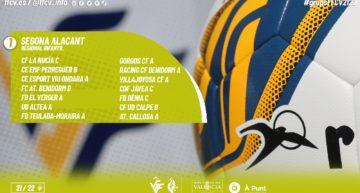 Oficiales los 11 grupos de Segona Regional Infantil de Alicante para la temporada 21-22