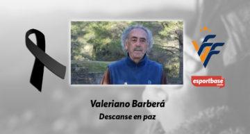 Duelo por el fallecimiento del histórico Valeriano Barberá, exdirectivo del CD Castellón