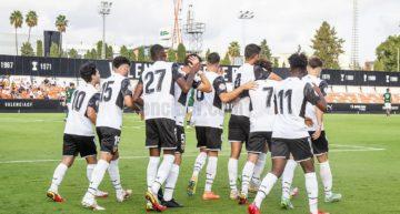 El Valencia Mestalla arranca con paso firme la temporada en 3ª RFEF