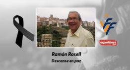 El CD Burriana llora la muerte de su exvicepresidente Ramón Rosell