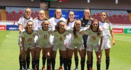 La selección sub 20 femenina vuelve a imponerse a Costa Rica (0-4)
