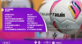 Confirmados los dos grupos de la Lliga de Veterans València FFCV 21-22