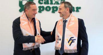 Caixa Popular acuerda poner el nombre a todas las ligas Valenta FFCV de fútbol-8