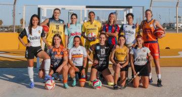12 equipos y más de 300 deportistas gozarán del apoyo de Teika en 'Juegan Ellas, Ganamos Todos' 21-22