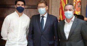 Carlos Soler, Pau Torres y Oscar Gil reciben la Medalla al Mérito Deportivo 2021 de la Generalitat
