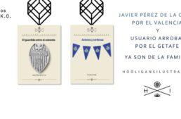 Dos fichajes nuevos en la colección literaria de Hooligans Ilustrados